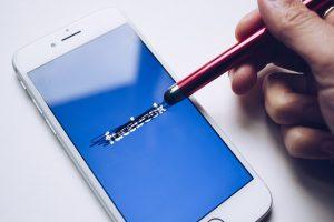 Usuwanie facebooka gumką