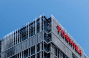 Budynek firmy Toshiba